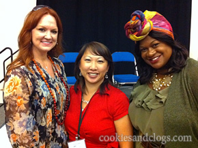 BlogHer '11 with Ree Drummond Pioneer Woman and Kathryn Finney Budget Fashionista
