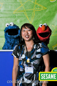 BlogHer '11 with Playskool and Sesame Street feat. Cookie Monster and Elmo