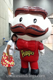 BlogHer '11 with the Pringles Man
