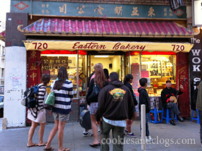 Eastern Bakery in San Francisco Chinatown