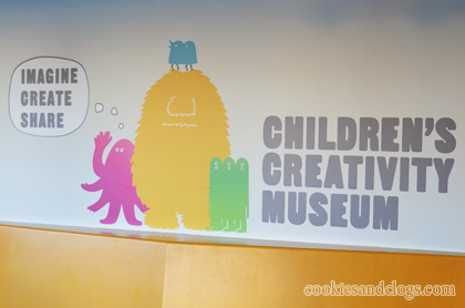 Childrens Creativity Museum formerly known as Zeum in the Yerba Buena Gardens area in San Francisco