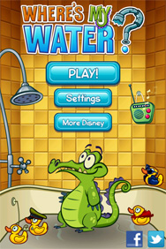 Where's My Water iPhone App by Disney