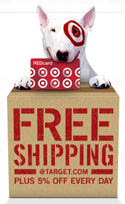 Target RED card offers free shipping and 5% discount