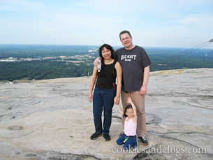 Stone Mountain in Atlanta, Georgia