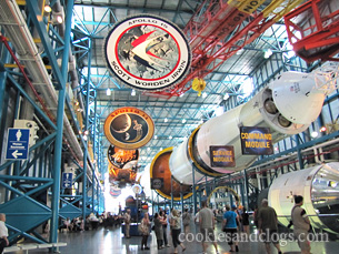 Kennedy Space Center in  Orlando, Florida