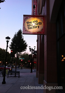 Old Spaghetti Factory Redwood City in California