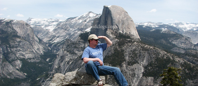 Glacier Point in Yosemite National park