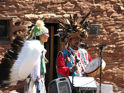 Native American Indian Song Dance Performance Event at Grand Canyon National Park in Arizona