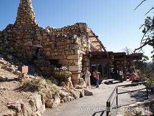 Hermit's Rest at Grand Canyon National Park in Arizona