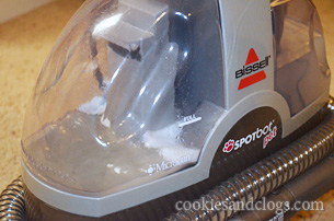 Bissell Pet SpotBot / Spot Bot Steam Cleaner Steamer