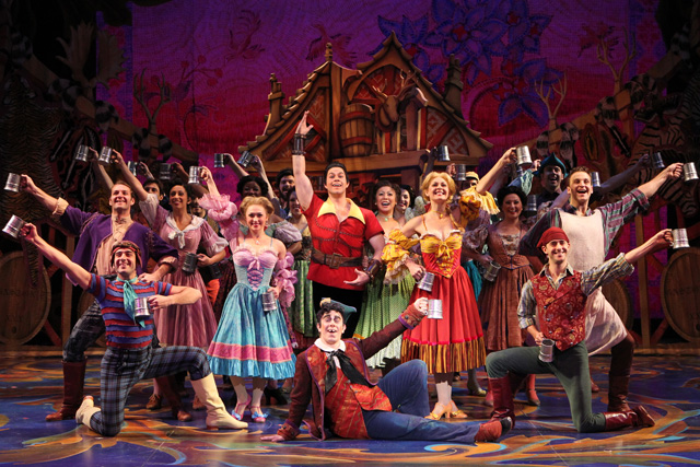 Disney's Beauty and the Beast Musical Performance in San Jose, California