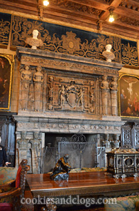 Hearst Castle Historical State Park in San Simeon in Central California