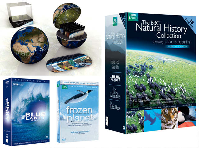 Celebrate Earth Day 2012 with BBC Planet Earth Frozen Blue Natural History DVD Collection