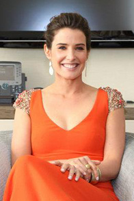 Marvel's The Avengers Interview with Cobie Smulders aka SHIELD Agent Maria Hill Blogger Group