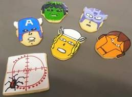 Marvel's The Avengers Party Cookies