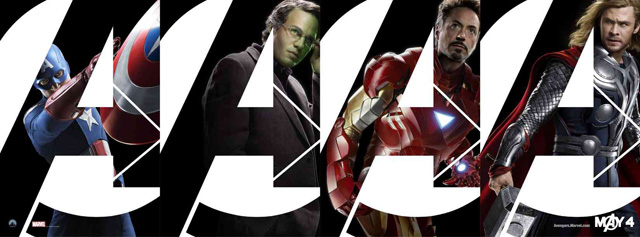 Marvel's the avengers movie iron man, captain america, hulk, thor, loki
