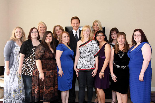 Marvel's The Avengers Interview with Tom Hiddlestone aka Loki Blogger Group