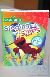 Sesame Street Singing with the Stars DVD Elmo