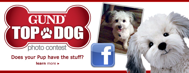 Gund Top Dog Stuff Huggable Toy Photo Contest