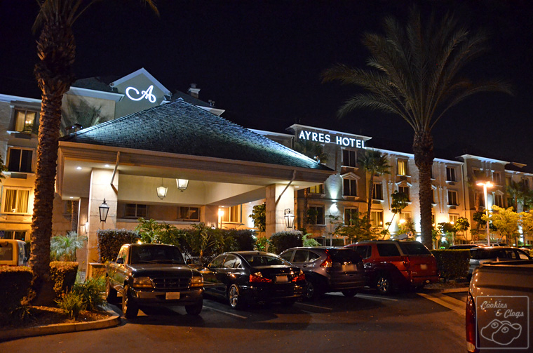Ayres Hotel Anaheim CA California Disneyland Reasonable & Clean