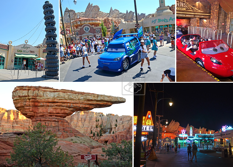 Disney California Adventures Disneyland Anaheim 2012 cars land world of color buena vista