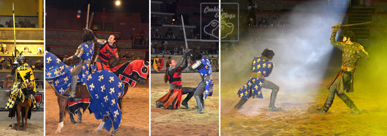 medieval times tournament dinner show horse knight joust buena park california sword