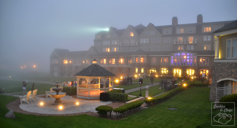 Ritz-Carlton Half Moon Bay California Coast Hotel Dog Friendly Yappy Hour Fog Coast Dusk