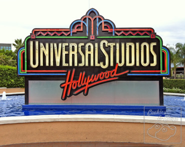 Universal Studios Hollywood California City Tour Sign