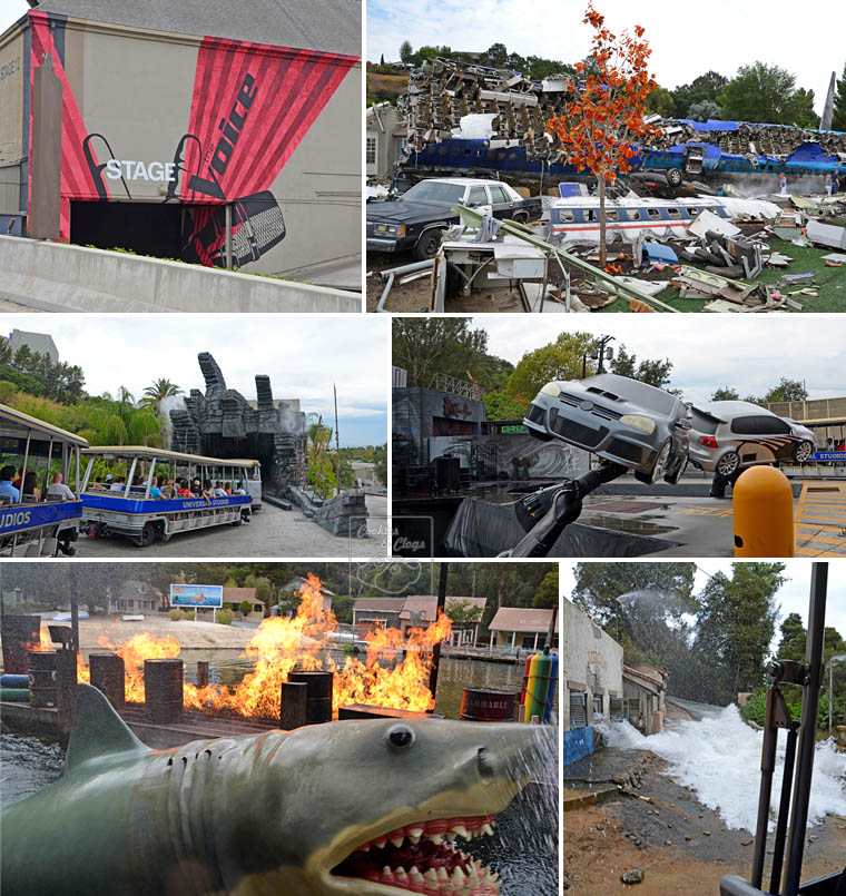 Universal Studios Hollywood California City Tour Stage Set Flood Jaws