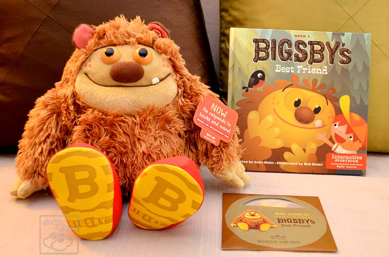 Bigsby Interactive Story Buddy Book, CD, and Plush by Hallmark
