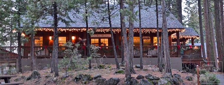 Evergreen Lodge in Groveland California near Yosemite National Park