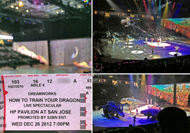 How To Train Your Dragon Live Spectacular at HP Pavilion in San Jose, CA