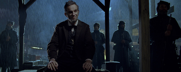 The Lincoln Movie with Daniel Day Lewis and by Steven Spielberg