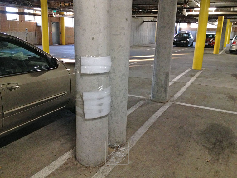Auto Humor of Underground Parking Padding