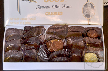 See's Candies Gifts of Chocolates Pops Treats Empty Box