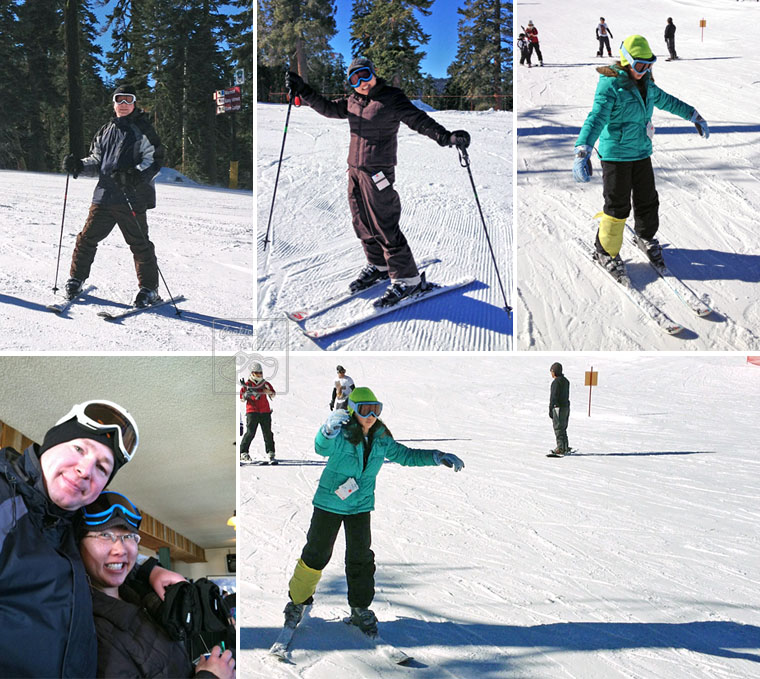 Sierra at Tahoe Mountain Resort in South Lake Tahoe for Snow, Skiing, Snowboarding, Sledding