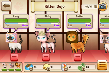 Family Game - Bread Kittens iOS App for iPhone iPad iPod