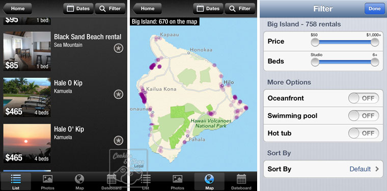 Dwellable Vacation Rentals iPhone iPad Android App