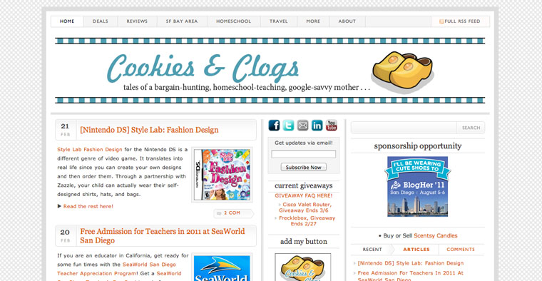 Cookies & Clogs Screenshot 05-2010