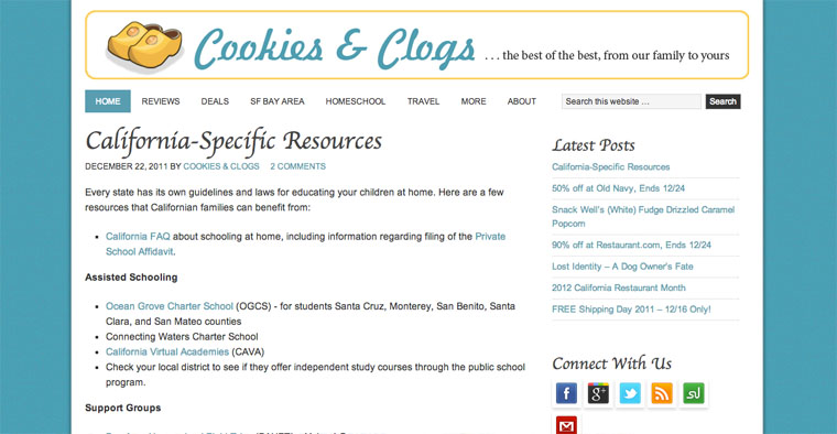 Cookies & Clogs Screenshot 12-2011