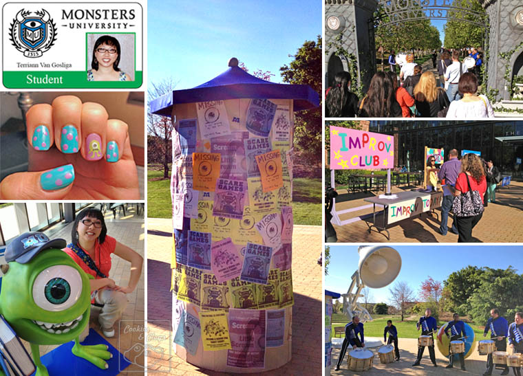 Monsters University Pixar Campus
