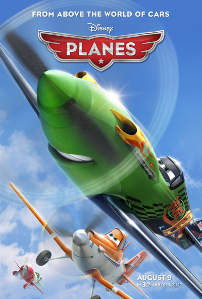 Planes Poster From World Above Cars Pixar Disney