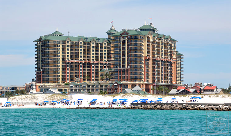 Emerald Grande Resort at Harborwalk Village in Destin Florida