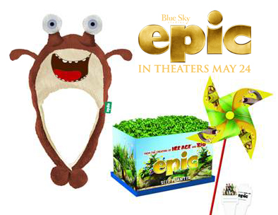 Epic Movie Prize Pack with Gift Card, Hat and Kids Planting Set