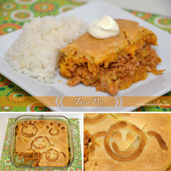 Taco Pie Recipe By Cookies and Clogs - Recipe of the Day on Circle of Moms