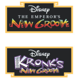 The Emperor's New Groove and Kronk's New Groove Disney Blu-Ray