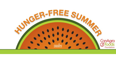 Hunger-Free Summer Logo, Fight Domestic Hunger