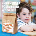 Hunger-Free Summer Campaign with ConAgra and Chris O'Donnell
