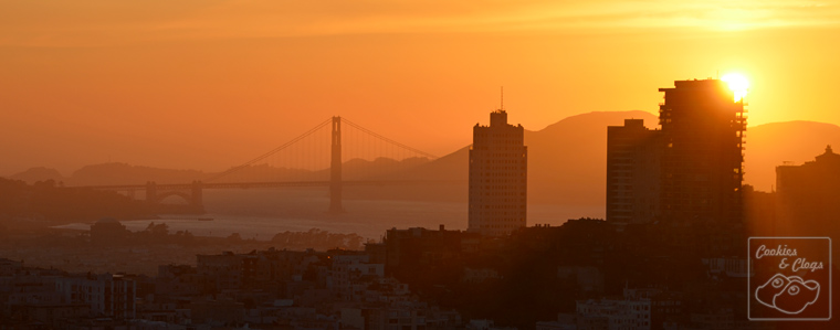 Mandarin Oriental San Francisco Hotel California Sunset