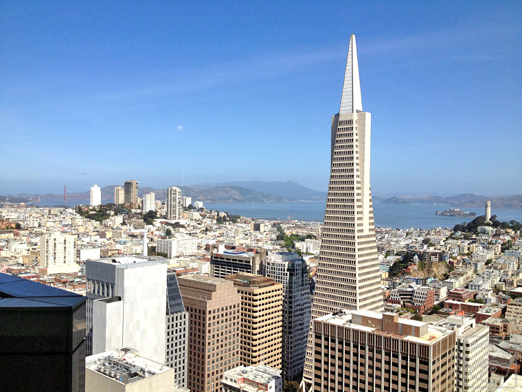 Mandarin Oriental San Francisco Hotel California City View